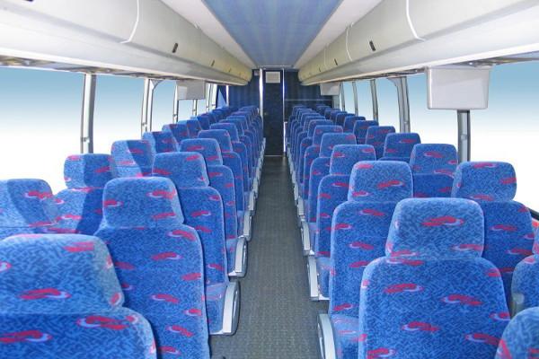 50 person charter bus rental Dallas