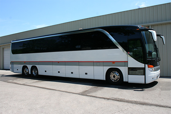 Dallas 56 Passenger Charter Bus